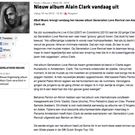 Alain Clark nieuw album